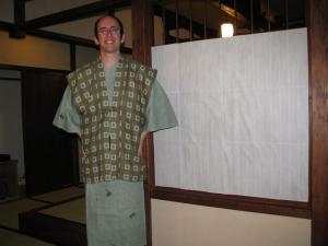 Aaron in Yukata